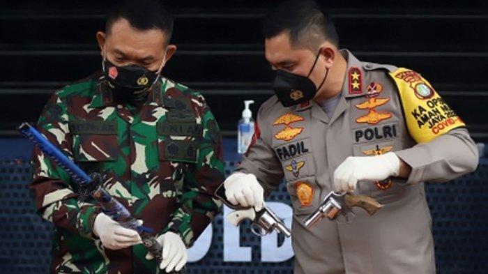 Sempat Dibantah Munarman, Sebut Fitnah Besar, Komnas HAM Kini Periksa Senjata Api Milik Laskar FPI