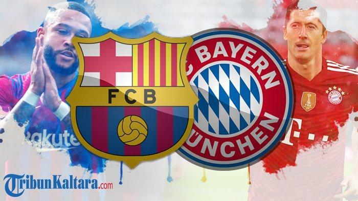 Jadwal Liga Champions, Barcelona vs Bayern Muenchen, Misi Balas Dendam Blaugrana Tanpa Lionel Messi
