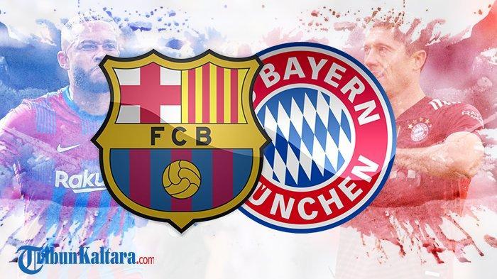 Siaran Langsung Barcelona vs Bayern Muenchen Liga Cahmpions di SCTV Tayang Pukul 02.00 Wib