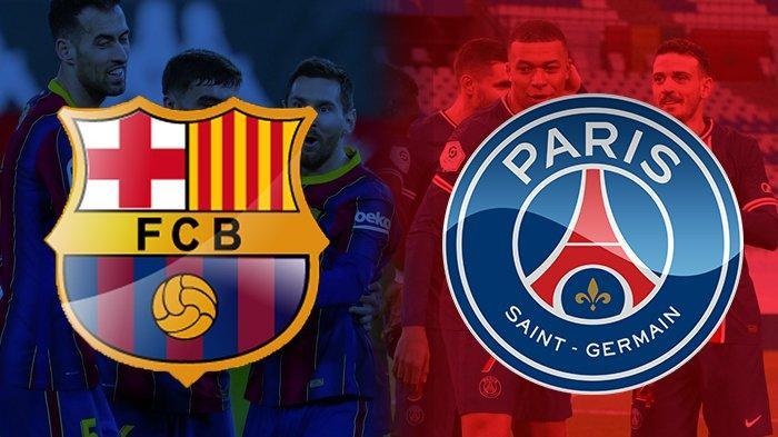 Prediksi Liga Champions, PSG Hadapi Barcelona di Camp Nou Tanpa Neymar, Adu Tajam Messi & Mbappe