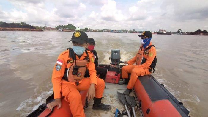 Pencarian Hari ke 3 Orang Diduga Ditabrak Ponton, Basarnas & Tim Gabungan Terus Siaga di Posko Utama
