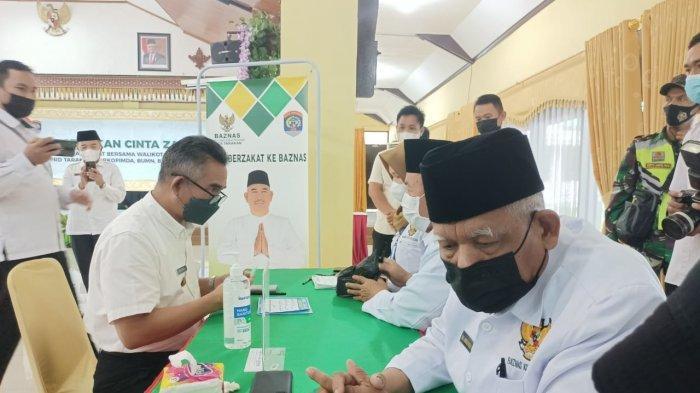 Dukung Gerakan Cinta Zakat, Wali Kota Khairul Ajak Warga Tarakan Salurkan Zakat lewat Baznas Tarakan
