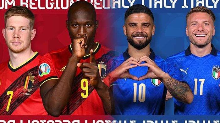 Prediksi Belgia vs Italia di Perempat Final Euro 2020, Romelu Lukaku Bakal Berjuang Sendirian