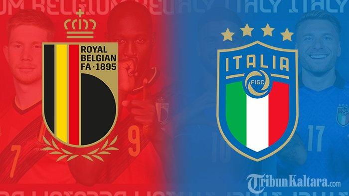 Prediksi Belgia vs Italia Euro 2020, Eks Pelatih Inter Milan Wanti-wanti Gli Azzurri, Live Mola TV