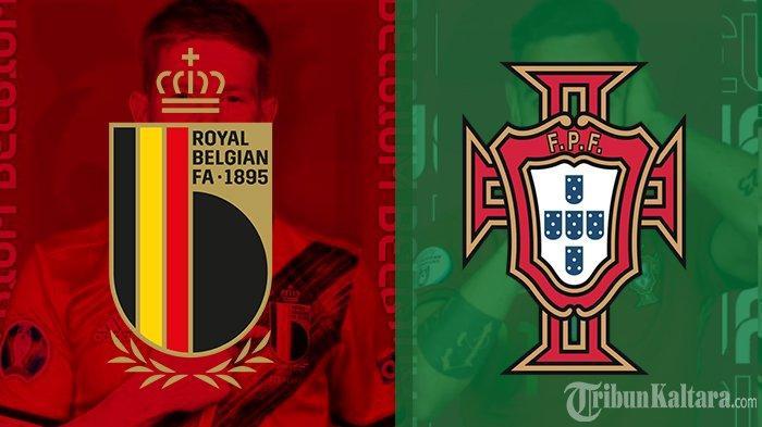 Prediksi Belgia vs Portugal Euro 2020, Adu Cerdas Playmaker Man United dan Man City Pukul 02.00 Wib