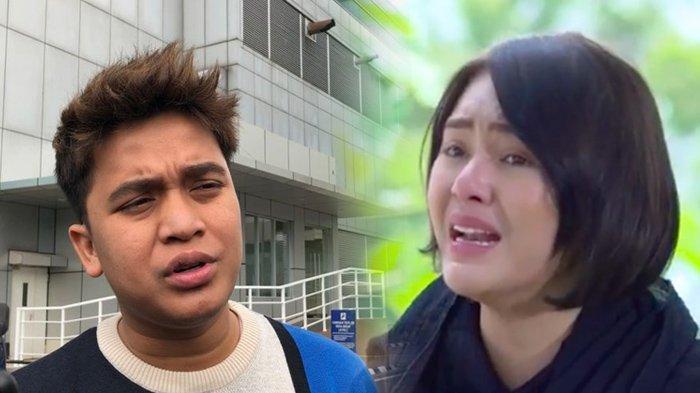 Diam-diam Billy Syahputra Hadiri Pemakaman Henny Manopo, Amanda Manopo Tahan Tangis
