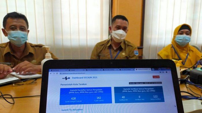 Pendaftaran CPNS Kaltara, BKPSDM Tarakan Sebut, Pelamar Didominasi Tarakan, 44 Berkas sudah Diterima