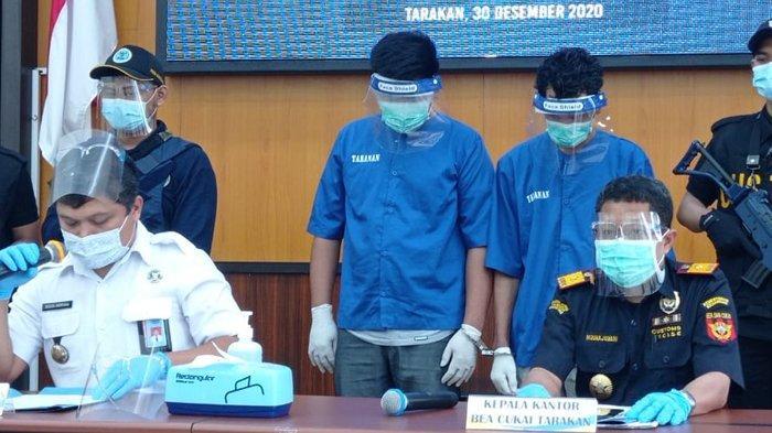 BNNP Kaltara Ungkap Kronologi Tindak Pidana Narkotika Jenis Sabu, Satu Pelaku Merupakan WNA