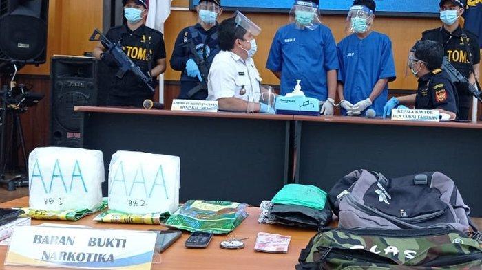 BNNP Kaltara Ungkap 14 Barang Bukti Tindak Pidana Narkotika Jenis Sabu dari Tersangka WNA Filipina
