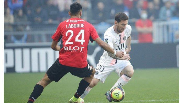 Messi, Neymar hingga Mbappe Starter, Paris Saint-Germain Tetap Keok dari Rennes di Liga Prancis