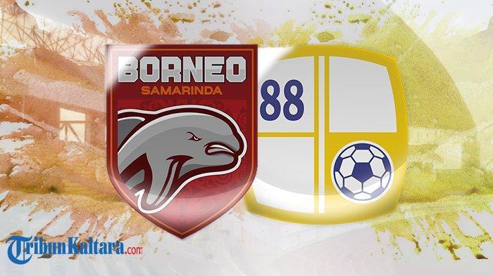 Tayang Sekarang Live Streaming Borneo FC vs Barito Putera Liga 1, Tayang di vidio.com Skor 0-0