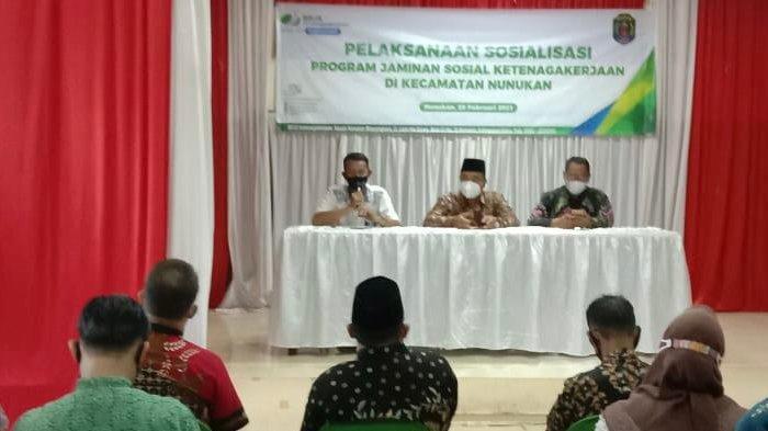 BP Jamsostek Nunukan Lakukan Sosialisasi Program di Kecamatan Nunukan