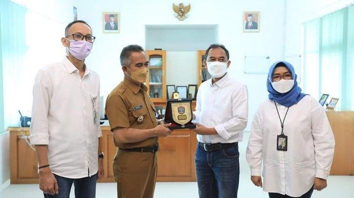 Wali Kota Tarakan dr. H. Khairul, MKes hadir pada peringatan Hari Pelanggan Nasional (Harpelnas yang diselenggarakan BPJS Ketenagakerjaan Kota Tarakan