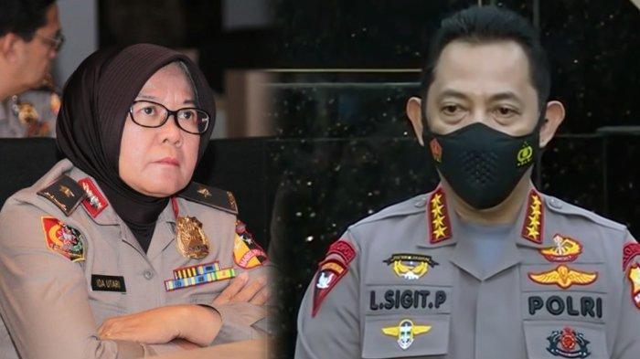 RESMI, Polwan Berjilbab yang Ikut Dampingi Jenderal Listyo Sigit, Dapat Jabatan Baru dari Kapolri