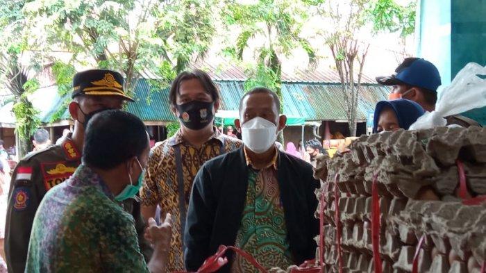 Bupati Bulungan Syarwani, Targetkan Satu Bulan Disperindagkop Tata Pasar Induk