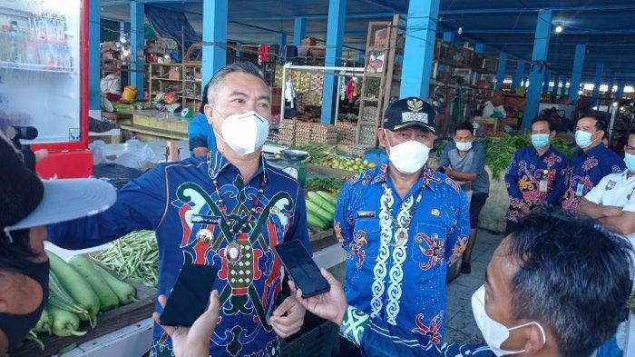Harga Cabai Rawit Melejit, Bupati Malinau Wempi W Mawa Sidak ke Pasar Induk, Berikut Ini Temuannya