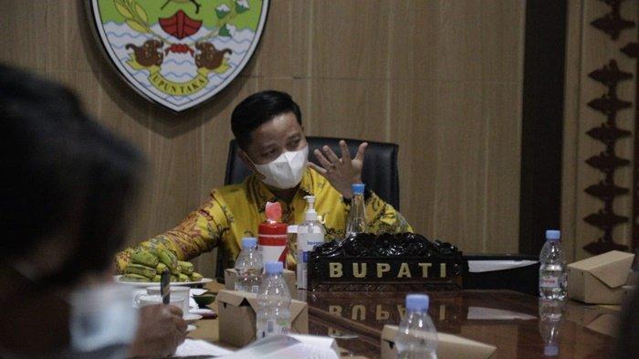 PPKM Level 3, Bupati Tana Tidung Ibrahim Ali Bakal Tingkatkan Vaksinasi Covid-19 di Daerahnya