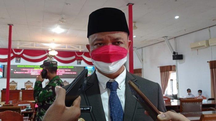 Bupati Kabupaten Tana Tidung, Ibrahim Ali. (TRIBUNKALTARA.COM / RISNA)