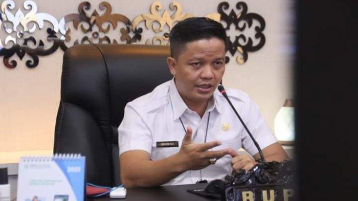 Bupati Tana Tidung, Ibrahim Ali pada kegiatan Pengenalan Kehidupan Kampus Pada Mahasiswa Baru Politeknik Pertanian Negeri Samarinda secara virtuar, Rabu (1/9/2021) kemarin.