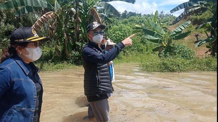 Malinau Dilanda Banjir Besar di Awal Masa Jabatan, Wempi W Mawa: Bersabar, Ini Ujian dari Tuhan
