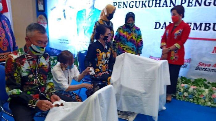 Gali Potensi Batik Khas Malinau, Pengrajin Diminta Rajin Eksplorasi Motif Lokal, Pasarkan via Medsos
