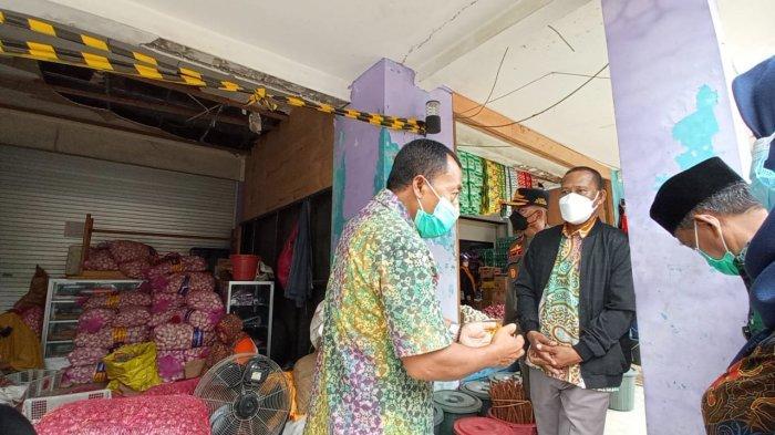 Ketahuan Jual Beli Kios Pasar Induk, Bupati Bulungan: Kami Tindak Tegas Oknum yang Bermain