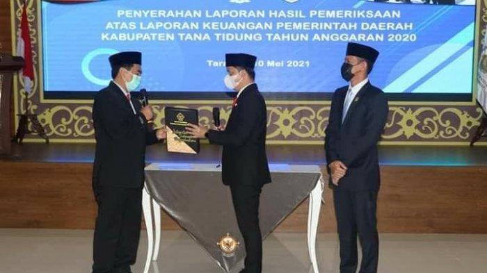 Pemkab Tana Tidung Kembali Raih WTP dari BPK Perwakilan Kaltara, Ini Harapan Bupati Ibrahim Ali