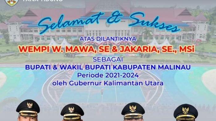 Bupati dan Wakil Bupati Malinau Dilantik, Ibrahim Ali: Saya Harapkan Bisa Koordinasi Dengan Baik