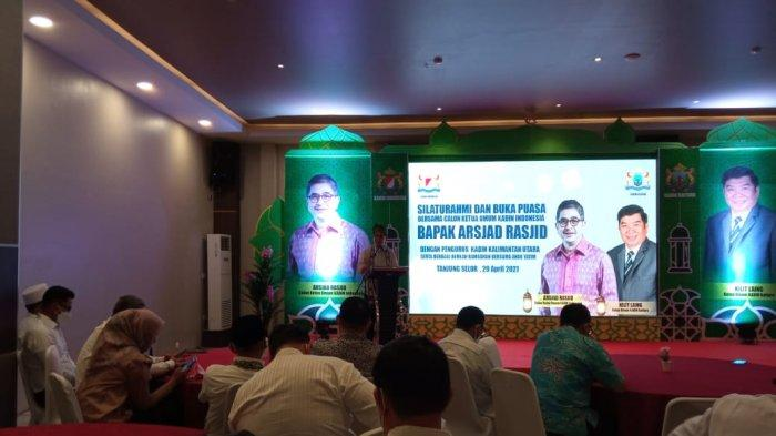 Galang Dukungan di Kaltara, Caketum Kadin Indonesia Arsjad Rasjid sebut Negara Dihadapkan 2 Perang