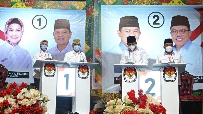 Sidang Sengketa Pilkada Nunukan, Hakim MK Putuskan Menolak Petitum Dani Iskandar - Muhammad Nasir