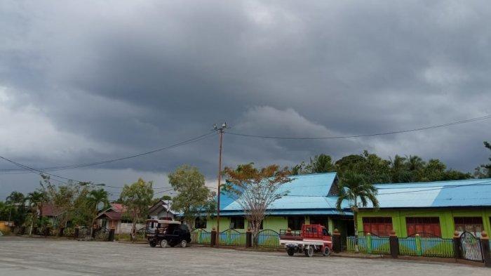 Perkiraan Cuaca Bulungan Hari Ini, Ibu Kota Kaltara Diguyur Hujan Lebat Disertai Petir Siang Hari