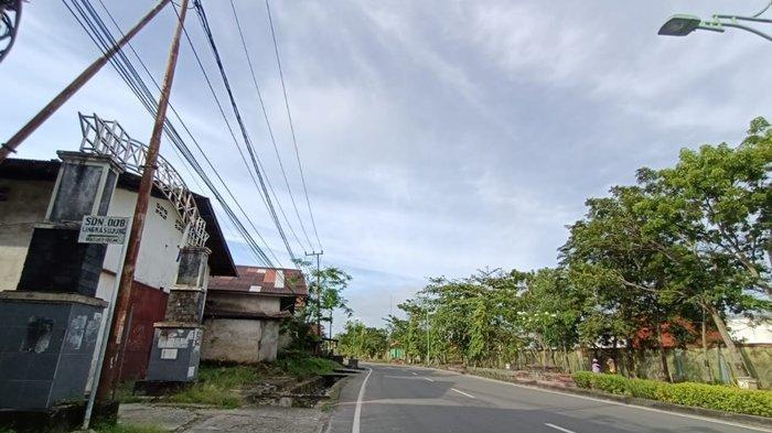 Cuaca di Kota Tarakan hari ini, Rabu (7/7/2021) pantauan dari Kota Tarakan. TRIBUNKALTARA.COM/ANDI PAUSIAH