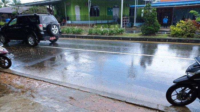 Prakiraan Cuaca Sabtu 8 Mei 2021, Kabupaten Nunukan Diguyur Hujan Ringan dari Siang hingga Dini Hari