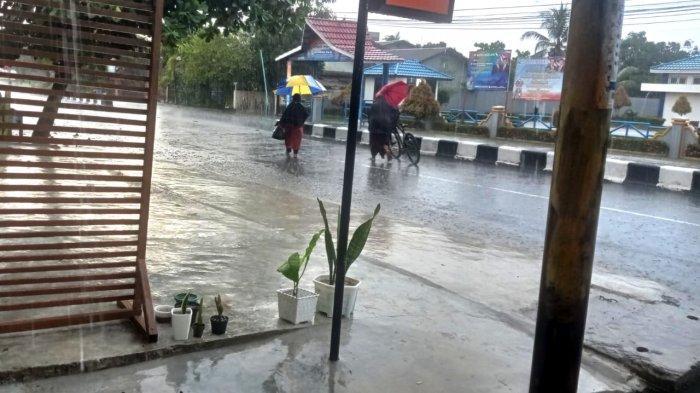 Prakiraan Cuaca Kaltara, Sabtu 14 Agustus 2021, Malinau Berpotensi Hujan Siang dan Sore