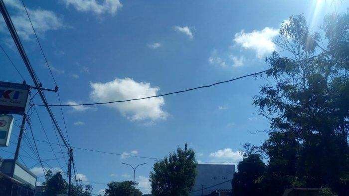 Cuaca Kota Samarinda hari ini, Sabtu (22/5/2021) cenderung cerah dan sedikit berawan diprediksi hingga sore hari