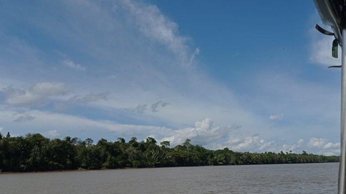 Cuaca di Kecamatan Sesayap, Kabupaten Tana Tidung hari ini, Jumat (23/4/2021), sedang cerah berawan.