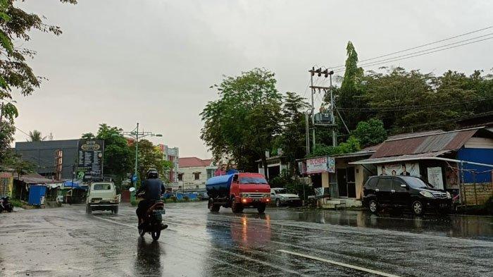 Lebaran Idul Fitri di Tarakan Disambut Hujan, Berikut Prakiraan Cuaca Kamis 13 Mei 2021