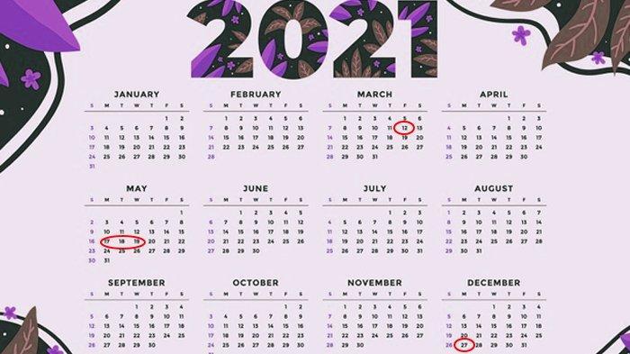 RESMI Dipotong Pemerintah, Cuti Bersama 2021 Cuma 2 Hari Termasuk Natal dan Lebaran Idul Fitri