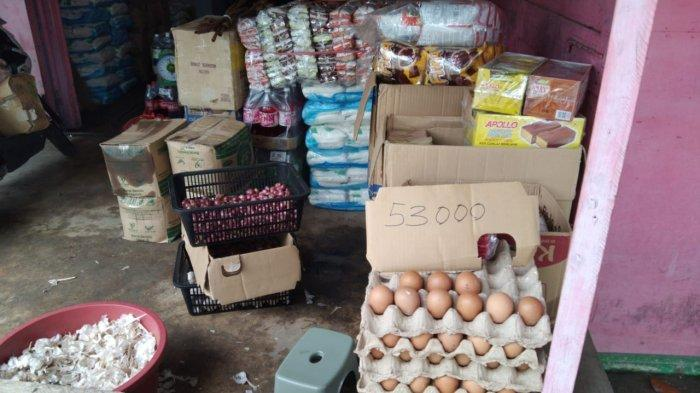 Harga Telur Ayam di Kabupaten Nunukan Kaltara Naik jadi Rp 55 Ribu Per Piring, Ini Penyebabnya