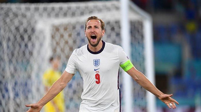 Hajar Ukraina 4-0, Inggris Kunci Satu Tempat di Semifinal Euro 2020, Harry Kane Cetak Brace