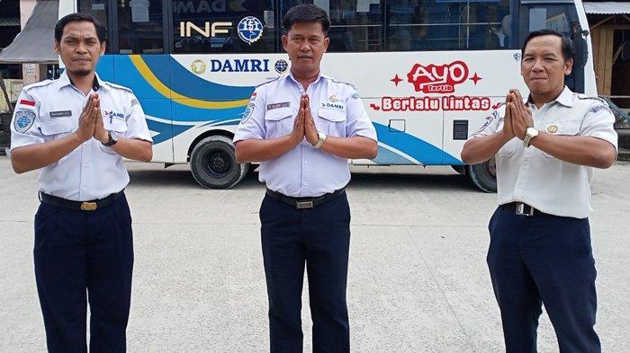 General Manager, Damri Tanjung Selor, Tri Wijono Djati mewakili jajarannya, mengucapkan Selamat Idul Adha 1442 H, Selasa (20/7/2021). (dok Damri Tanjung Selor)