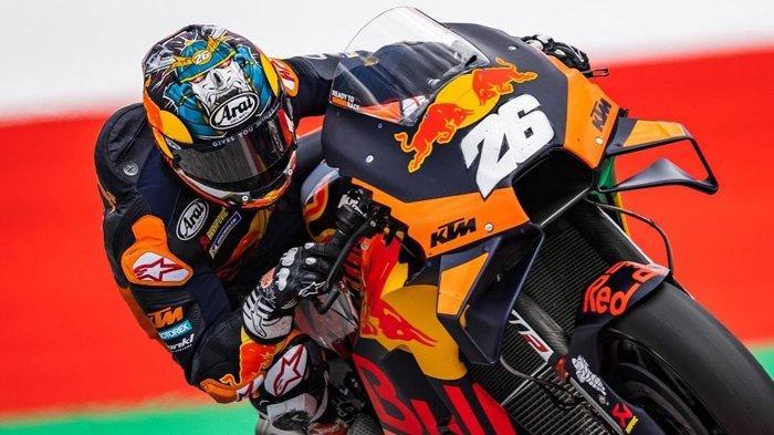 BREAKING NEWS, Balapan MotoGP Styria 2021 Dihentikan Sementara, Motor Dani Pedrosa Terbakar