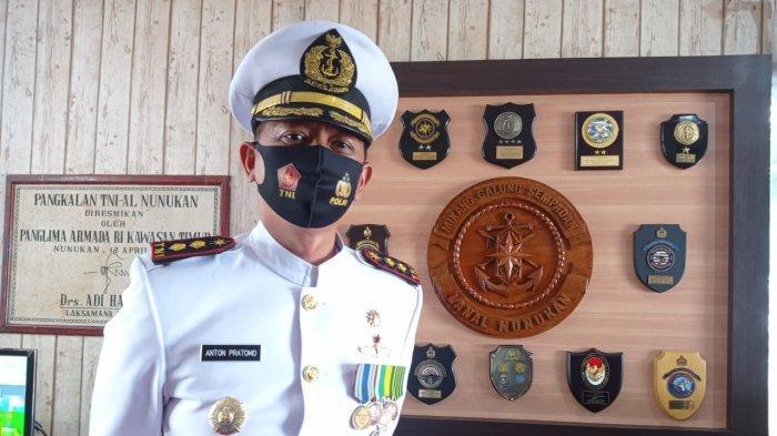 Danlanal Nunukan Letkol Laut (P) Anton Pratomo Beber Ada 10 Jalur Tikus Perbatasan RI di Nunukan