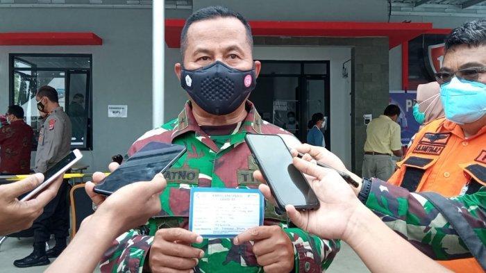 Reaksi Danrem 092 Maharajalila Brigjen TNI Suratno Seusai Divaksin Corona, Ngaku Sehat-sehat Saja