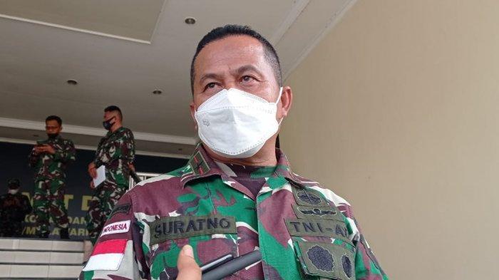 Evaluasi Program Kerja, Danrem 092 Maharajalila Brigjend TNI Suratno Sampaikan Hal ini ke Anggotanya