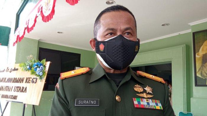 Danrem 092 Maharajlila Brigjen TNI Suratno Diperintahkan, Percepat Vaksinasi Covid-19 di Kaltara