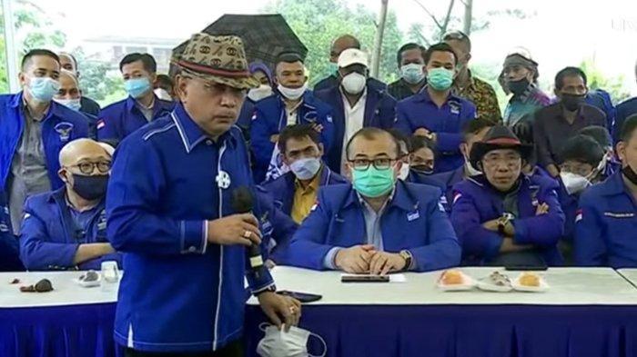 Manuver Partai Demokrat Kubu Moeldoko, Telak Sindir SBY di Hambalang, Minta Maaf ke Jokowi