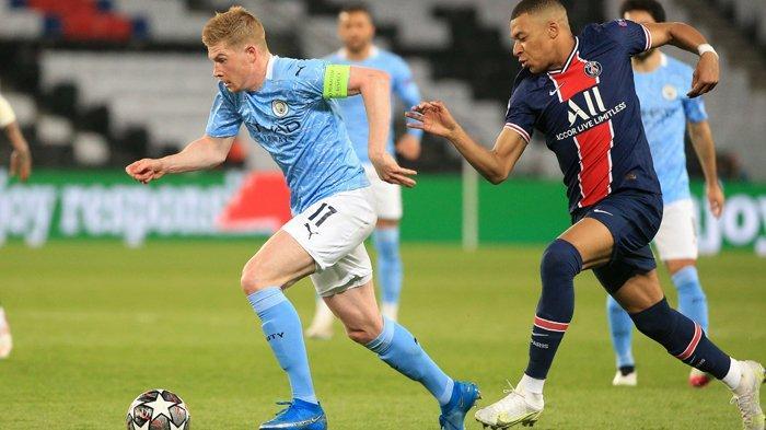 Permalukan PSG, De Bruyne dan Mahrez Bikin Man City Selangkah Lagi ke Final Liga Champions