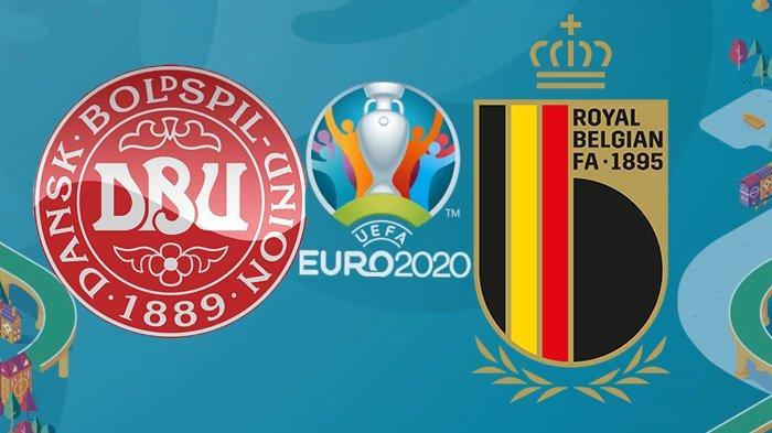 Siaran Langsung Denmark vs Belgia di Euro 2020, Hazard Batal Starter, Tayang di RCTI, Skor 0-0