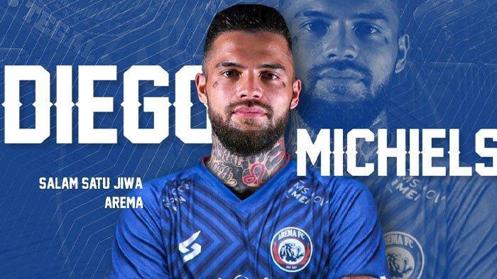 Sempat Dirumorkan ke PSM hingga Persib, Eks Kapten Borneo FC Diego Michiels Pilih Gabung Arema FC